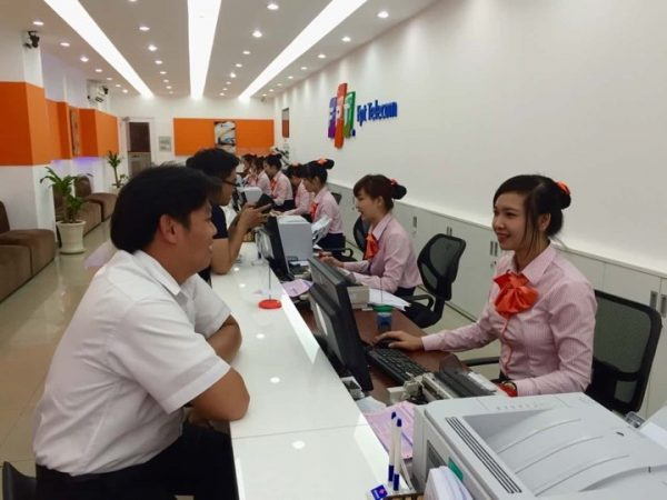 Chi nhánh FPT ở Gò Vấp.