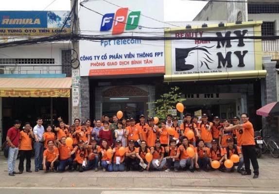 Chi nhánh FPT Telecom Quận Bình Tân.