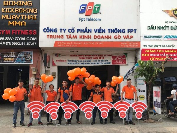 Địa chỉ FPT Gò Vấp ở 1015 Phan Văn Trị.