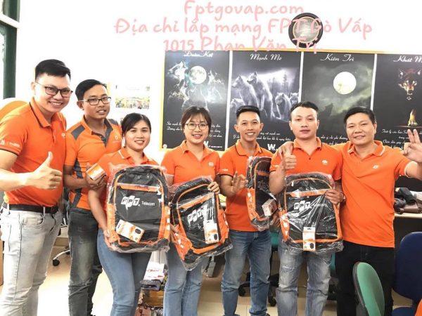 Địa chỉ lắp mạng FPT Gò Vấp 1015 Phan Văn Trị.