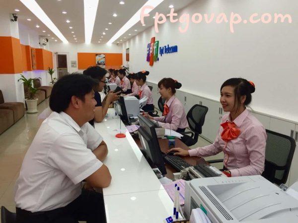 Vân phòng chi nhánh FPT Quận Gò Vấp.