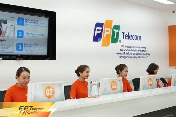 Phòng giao dịch lắp mạng FPT Tây Thạnh.