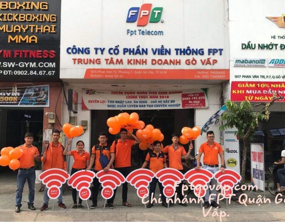 Dịch vụ lắp mạn FPT Quận Gò Vấp kính chào quý khách.