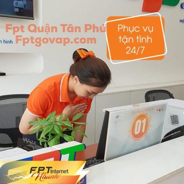 Dịch vụ lắp mạng FPT Phường Phú Trung xin chào quý khách.