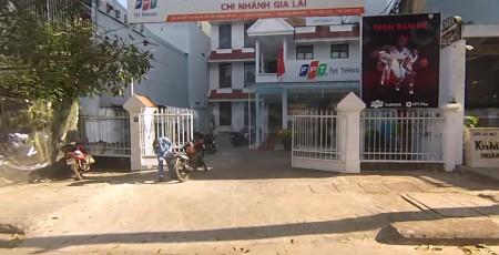 FPT Gia Lai ở địa chỉ 67 Tăng Bạt Hổ, Yên Đỗ, Tp.Pleiku.