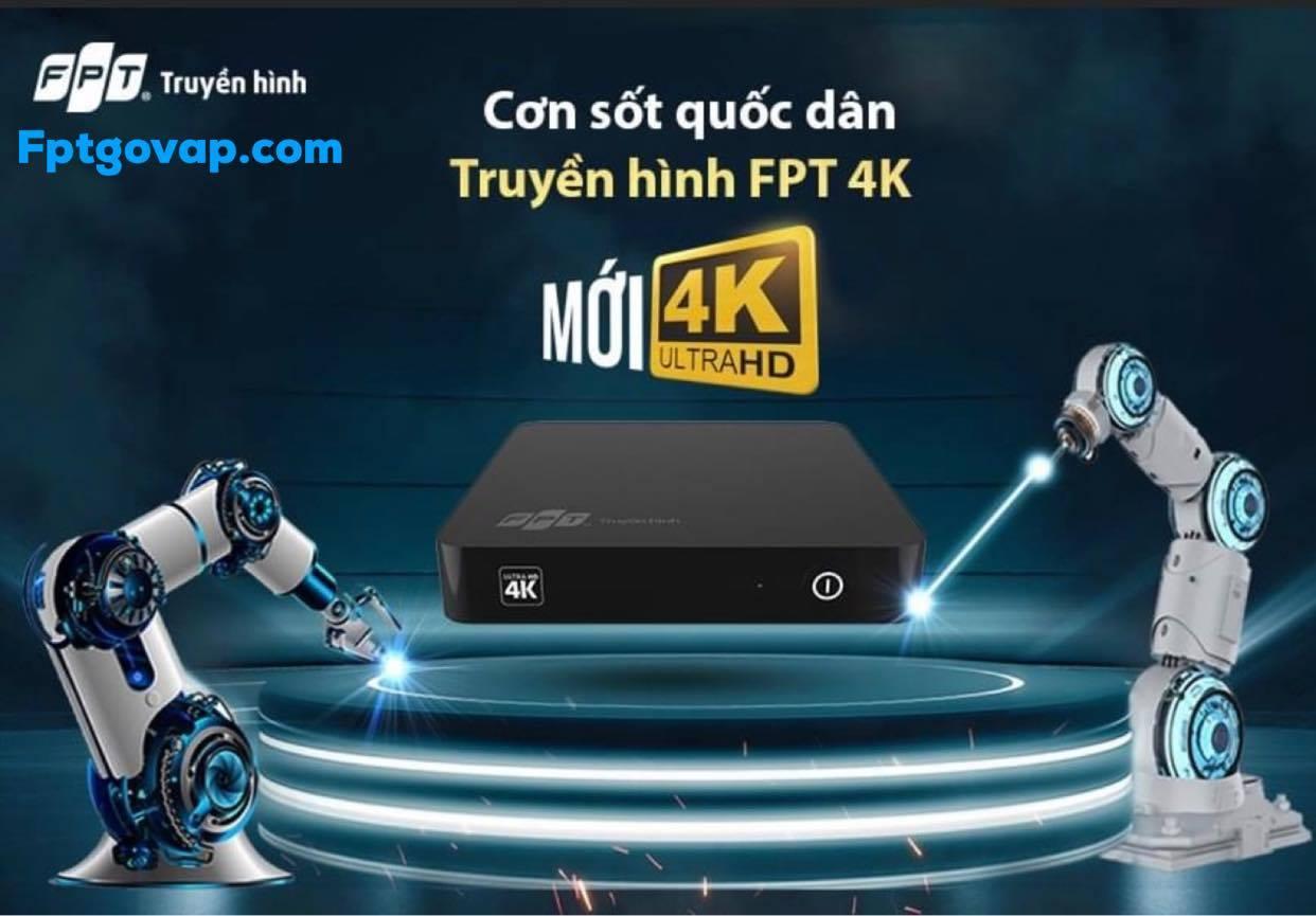 Đầu thu chuẩn 4K của truyền hình FPT.