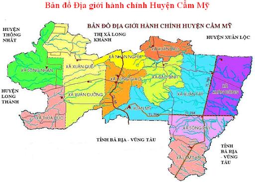 Huyện Cẩm Mỹ, Tỉnh Đồng Nai.
