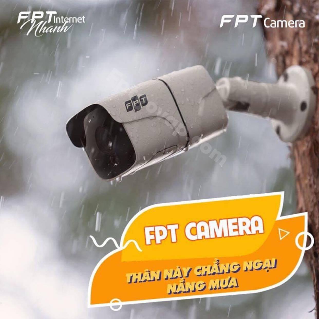 Camera FPT - Một sản phẩm công nghệ cao của FPT Cẩm Mỹ.