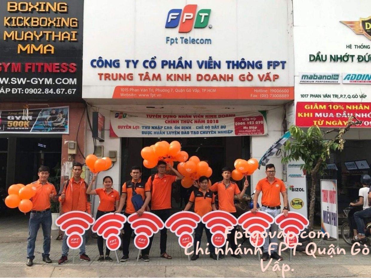 Chi nhánh truyền hình cáp FPT Quận Gò Vấp.