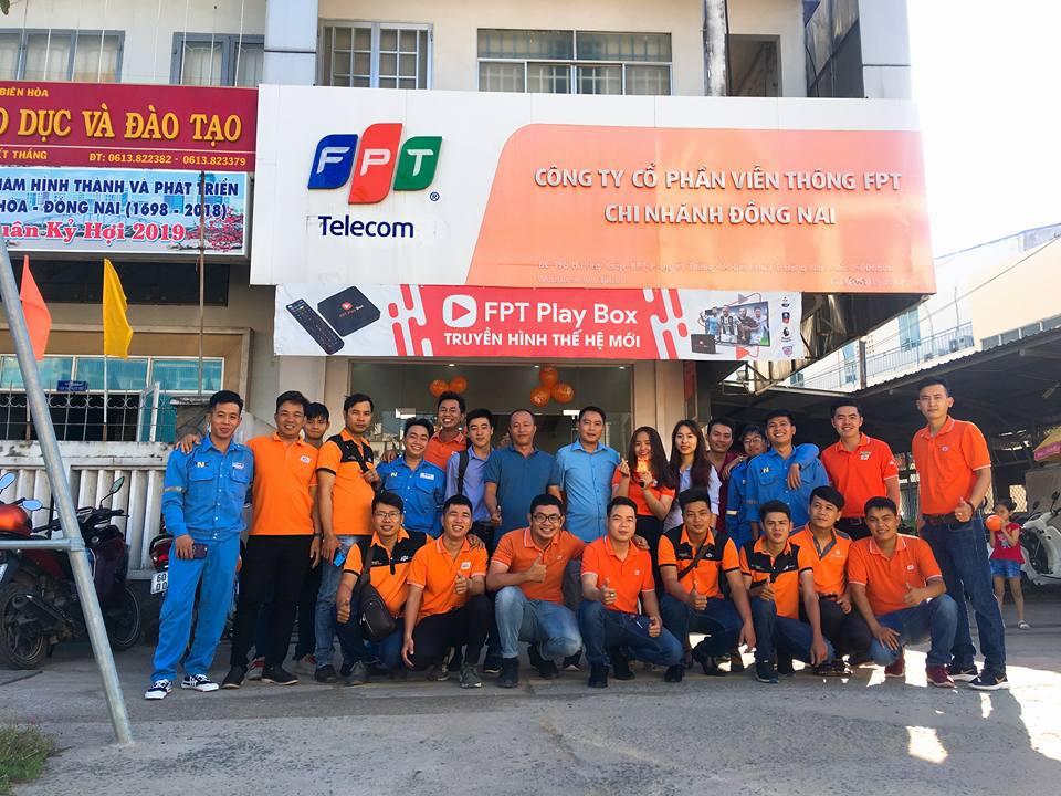 Chi nhánh lắp mạng FPT ở Tỉnh Đồng Nai.
