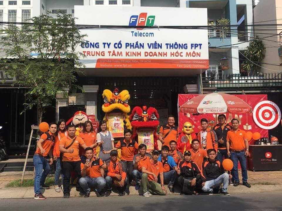 Dịch vụ lắp mạng FPT Huyện Hóc Môn.