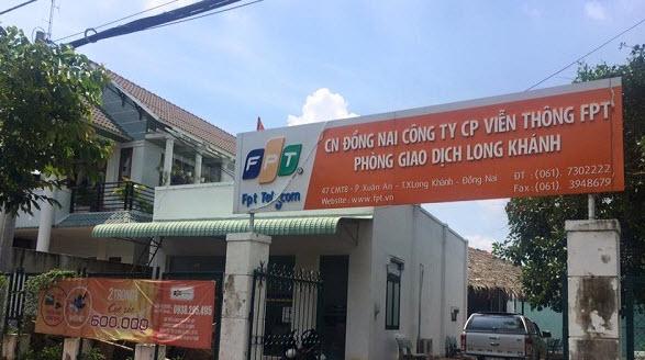 Chi nhánh lắp mạng FPT Thị Xã Long Khánh.