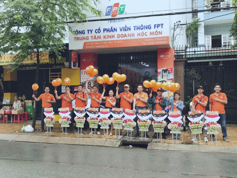 Chi nhánh FPT Hóc Môn.