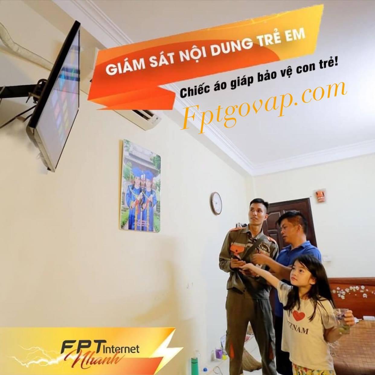 Chức năng giám sát trẻ em của FPT.