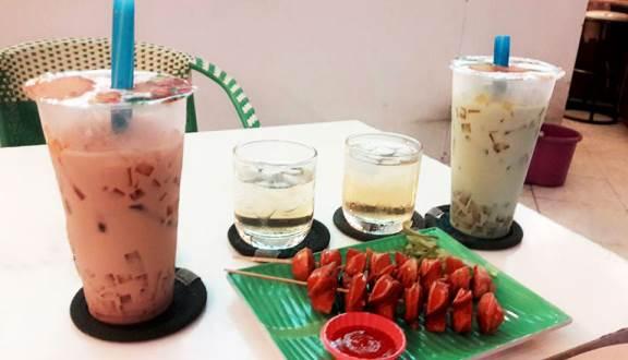 Hệ thống trà sữa Happy Life ở Gò Vấp.
