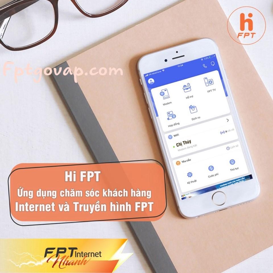 Ứng dụng quản lý wifi của FPT Telecom Vĩnh Cửu.
