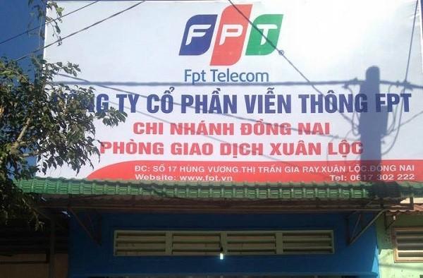 Chi nhánh lắp mạng FPT Huyện Xuân Lộc.