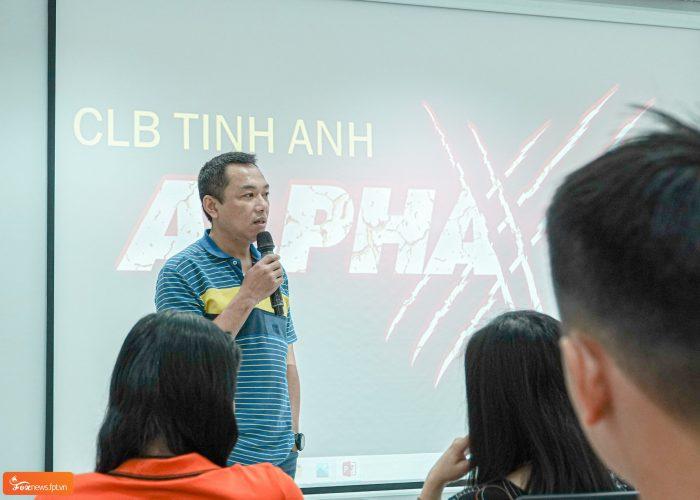 Anh Phạm Thanh Tuấn - Chủ tịch CLB Tinh Anh.