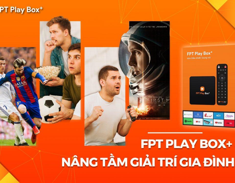 FPT Play Box 2020 - Một sản phẩm mới chất lượng cao của FPT Telecom Quận Tân Bình.