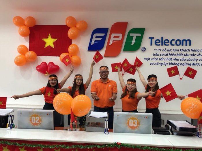 FPT Telecom là nhà cung cấp viễn thông được yêu thích nhất ở Quận 3 và Tp.HCM.