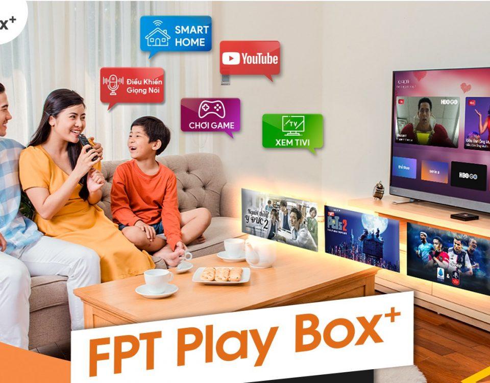 FPT Play Box - Một sản phẩm công nghệ cao cảu FPT Quận Phú Nhuận.