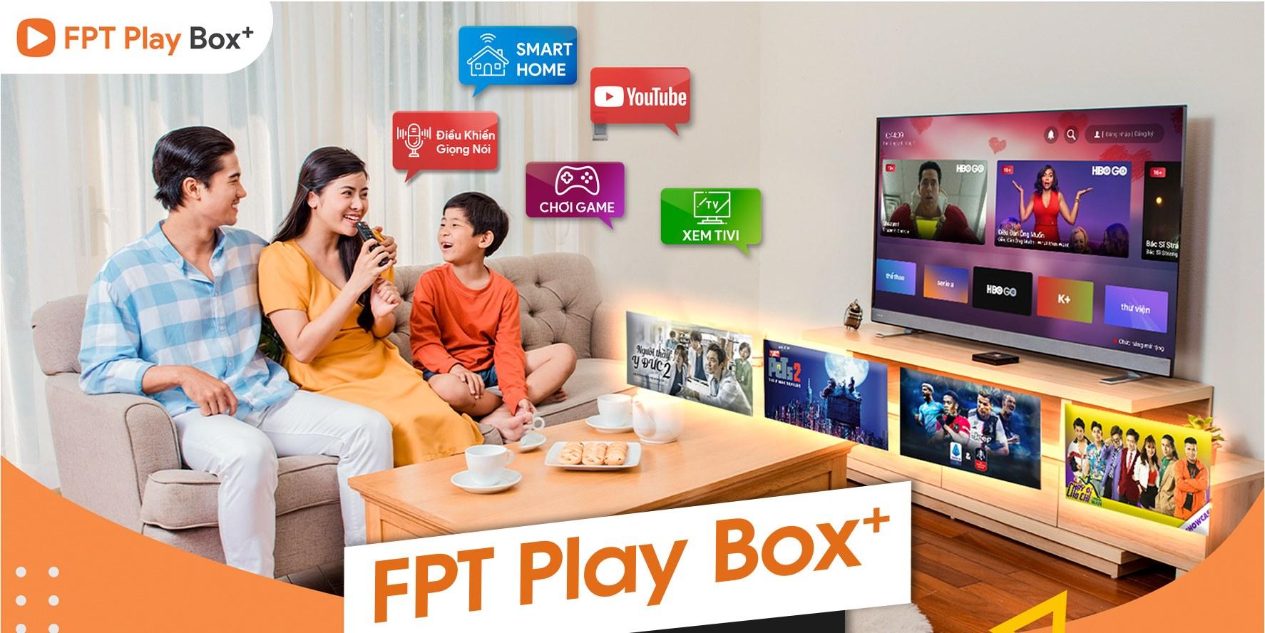 Nội dung phong phú, đa dạng và bản quyền của FPT Play Box.