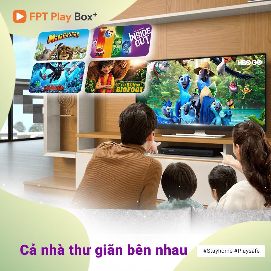 Hãy mua FPT Play Box để gắn kết mọi thành viên trong gia đình Quận Phú Nhuận.