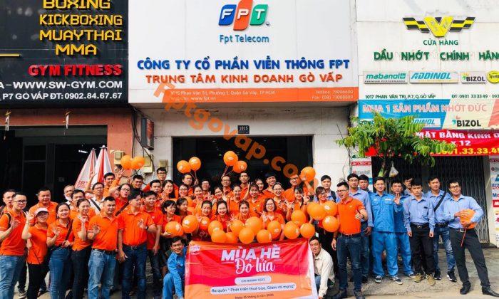 Dịch vụ lắp internet Quận Gò Vấp - FPT Telecom