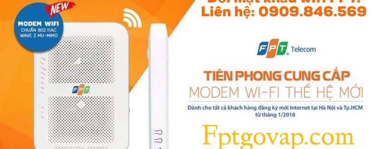 Modem internet FPT sử dụng công nghệ chuẩn AC 2 băng tần 2.4Ghz và 5.0Ghz.
