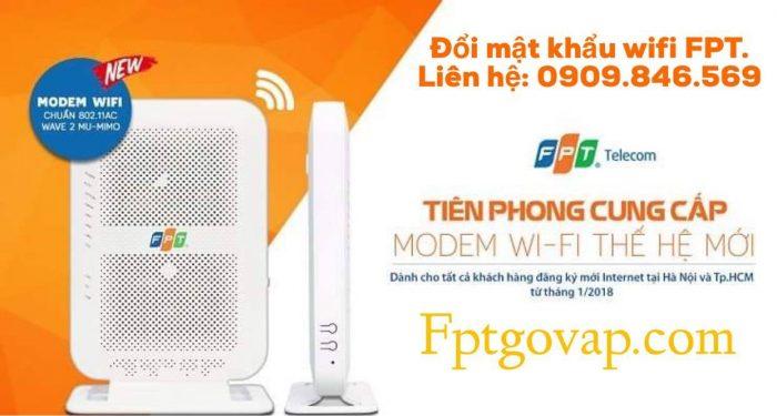 Đổi tên, đổi mật khẩu wifi FPT là điều cần thiết khi sử dụng dịch vụ FPT Telecom.