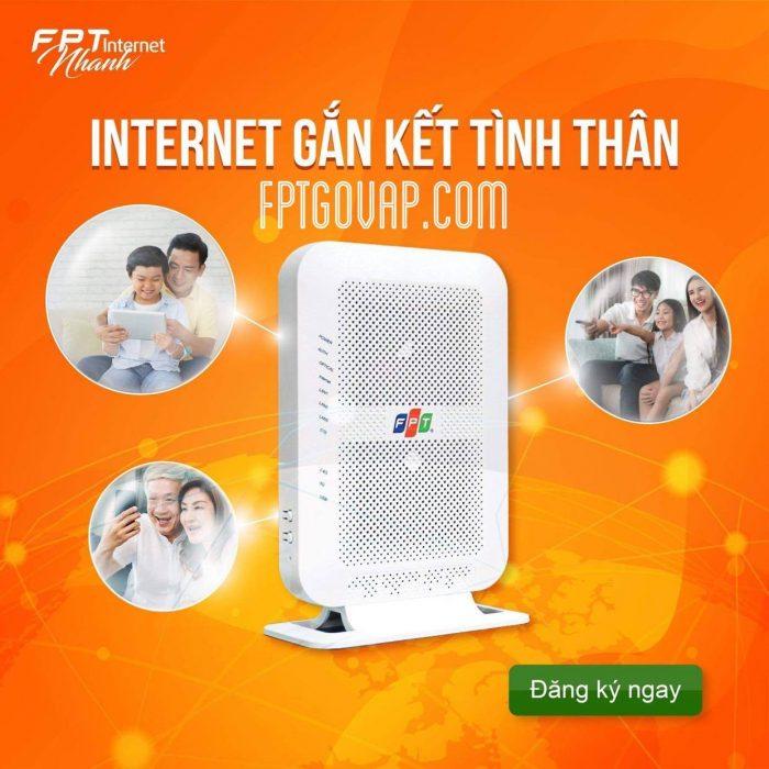 Đăng ký lắp mạng FPT để gắn kết mọi người nào.