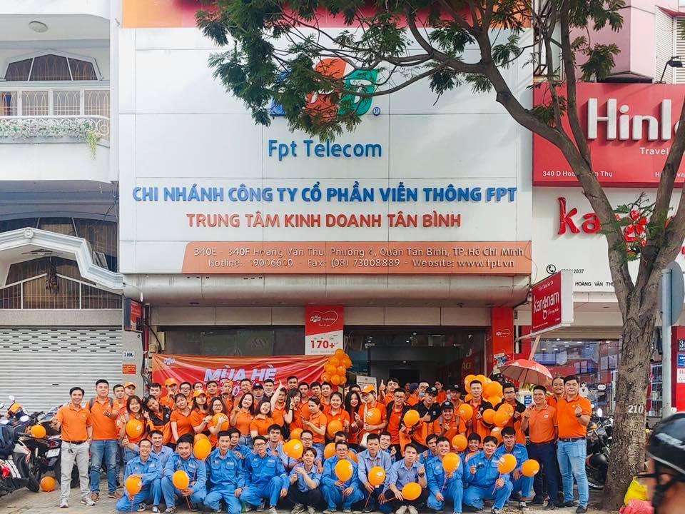 Dịch vụ sửa chữa, bảo trì mạng FPT Quận Tân Bình.
