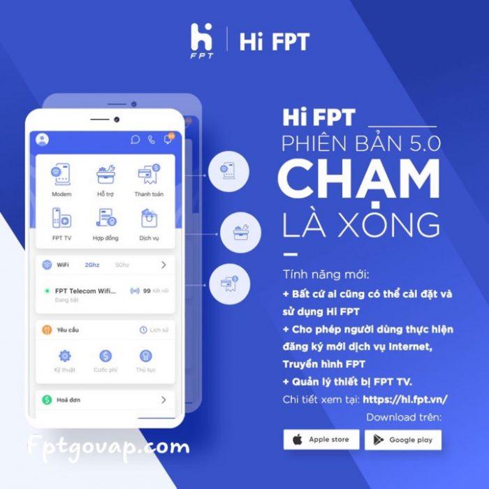 Khách hàng có thể gia hạn hoặc thanh lý hợp đồng FP qua ứng dụng Hi FPT.