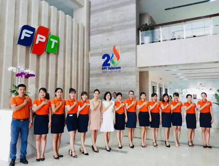 Nhà cung cấp viễn thông FPT Telecom.