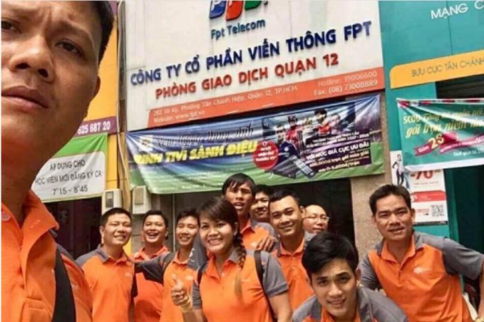 Chi nhánh FPT Quận 12 ở địa chỉ 156 Lê Văn Khương, Phường Thới An.