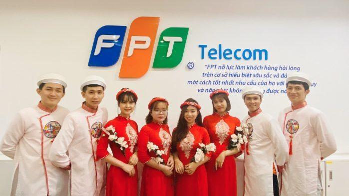Công ty cổ phần viễn thông FPT Telecom.