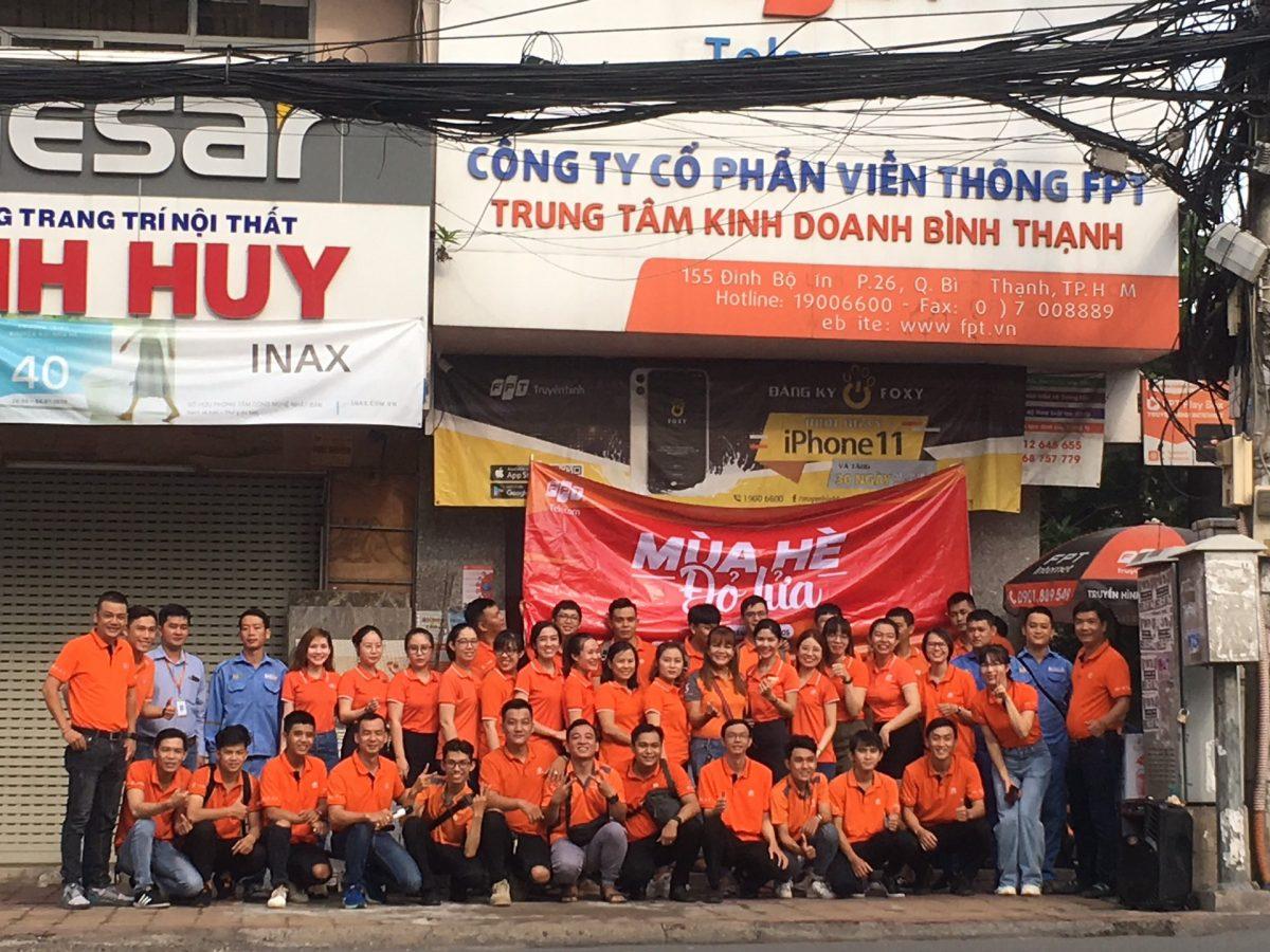 FPT Quận 2 - Chi nhánh ở 155 Đinh Bộ Lĩnh, Phường 25, Quận Bình Thạnh.