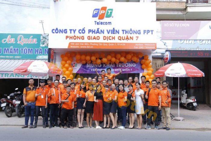 Địa chỉ FPT Quận 7 nằm ở 198 Lâm Văn Bền, Phường Bình Thuận.