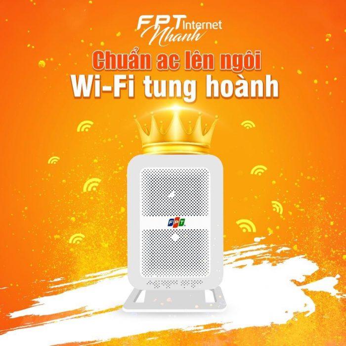 Modem wifi chuẩn AC cao cấp của nhà mạng FPT.