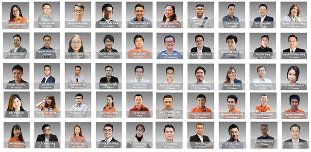 Under 35 FPT năm 2020 nhận được nhiều ứng cử viên trãi đều các lĩnh vực.