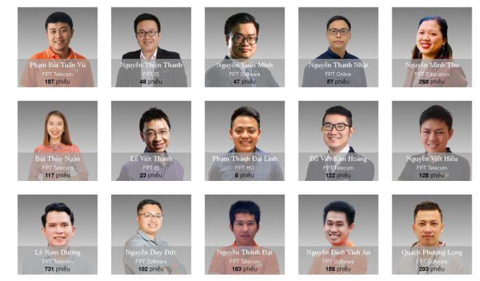 Top 50 Under 35 FPT năm 2020 vào giai đoạn bình chọn cuối cùng.