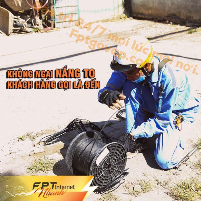 Đội ngũ kỹ thuật FPT Quận Gò Vấp có chuyên môn tốt, nghiệp vụ cao.