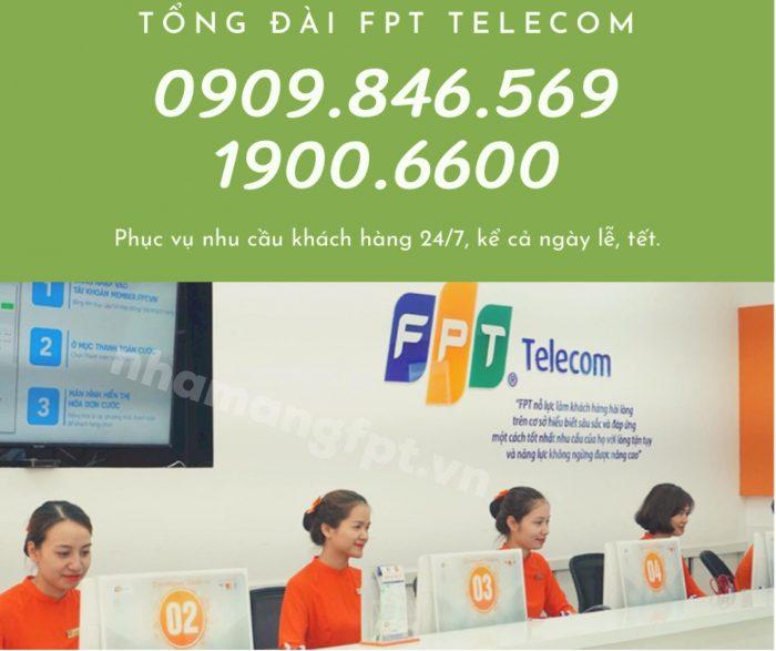 Gọi ngay tổng đài kỹ thuật FPT khi gặp sự cố về kỹ thuật nhé!