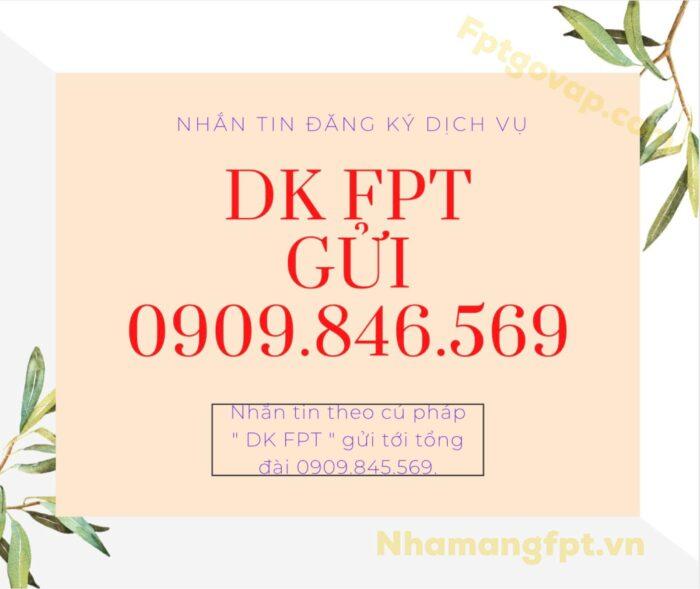 Ngoài việc gọi điện, khách hàng còn có thể nhắn tin để đăng ký dịch vụ FPT.