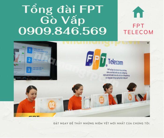 Tổng đài FPT Quận Gò Vấp trực điện thoại 24/7, kể cả lễ tết.