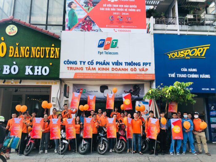 Chi nhánh FPT Telecom Quận Gò Vấp.