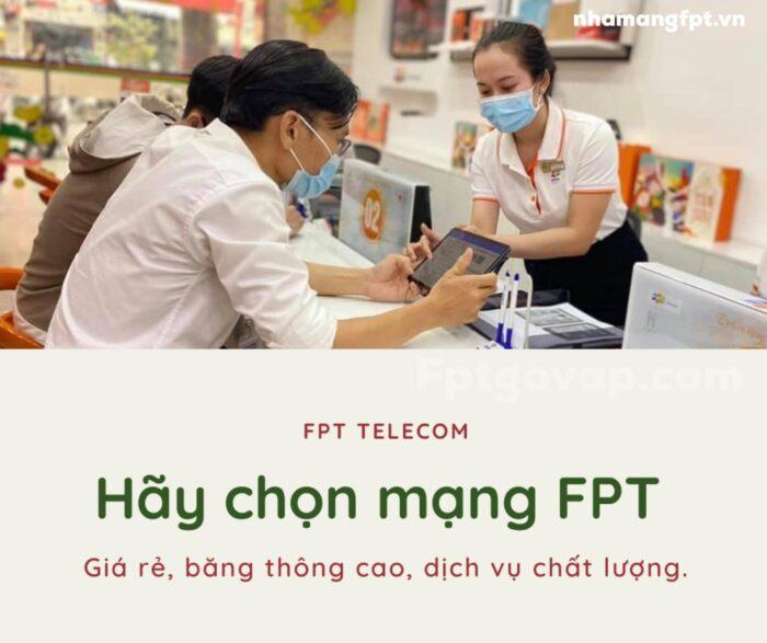 FPT Telecom là nhà mạng internet đáng dùng nhất trong năm 2021.