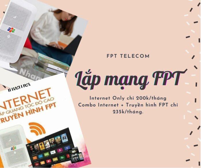 Dịch vụ lắp mạng internet FPT chất lượng cao ở Quận 5.