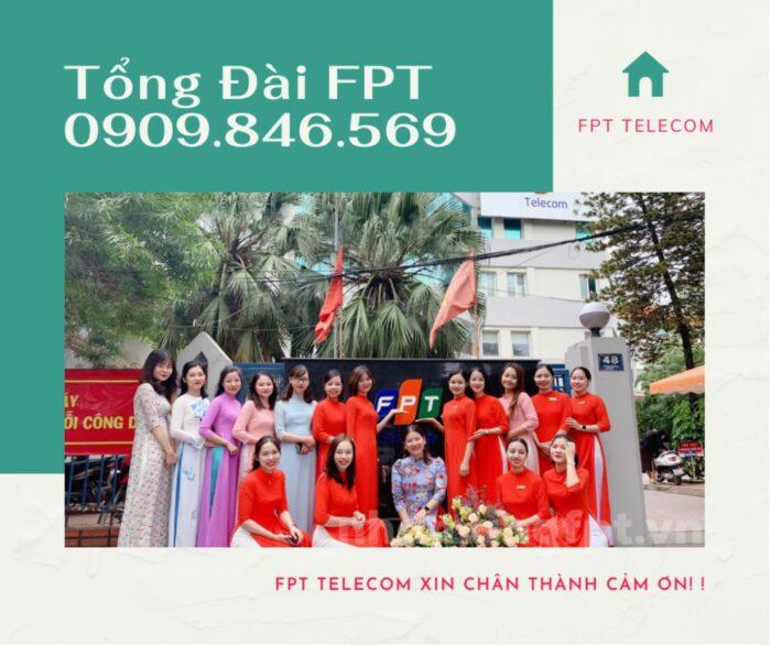Tổng đài hỗ trợ tăng băng thông của FPT - 0909.846.569