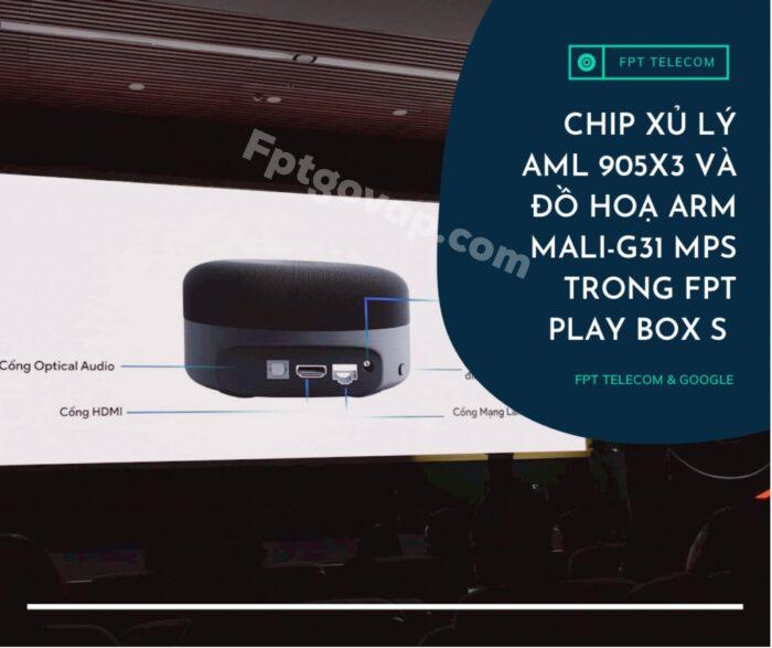 FPT Play Box S 2021 sở hữu công nghệ hiện đại bậc nhất thế giới.